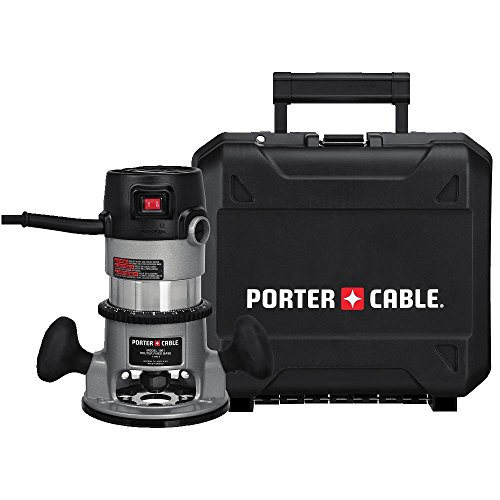 PORTER-CABLE Router, Fixed Base, 1/4-Inch and 1/2-Inch Collets, 11-Amp, 1-3/4 HP (9690LR)
