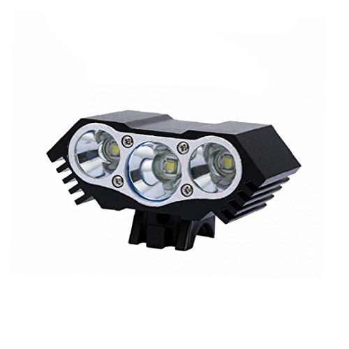 Juego De Luces De Bicicleta, Super Luminoso Recargables Luces De La Bicicleta Con 3 Led Linterna De La Bici Y Seguro Luz Trasera, Antideslumbrante Beam, El Ciclo De Las Luces De Carretera Y De