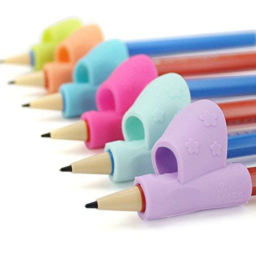 ANGTUO 3PCS Crayon Grip Écriture Outil d'aide à la posture Correcteur Silicone...