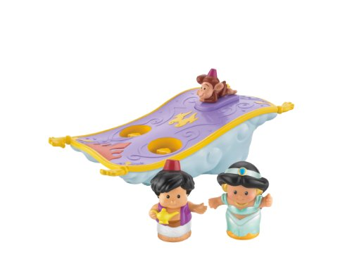 Fisher-Price Little People Disney Aladdin's Magic Carpet by Fisher-Price