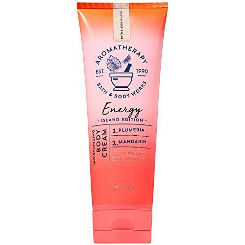 Bath and Body Works Aromatherapy ENERGY - PLUMERIA MANDARIN Body Cream 8 Ounce (Island Edition)