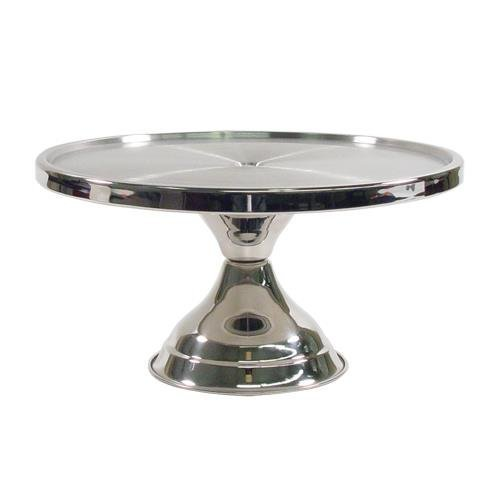 Winco 13inch Stainless Steel Cake Stand CKS-13, Set of 12