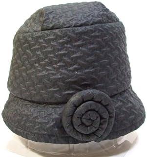 telco帽子 クロシュ 黒 サイズ58