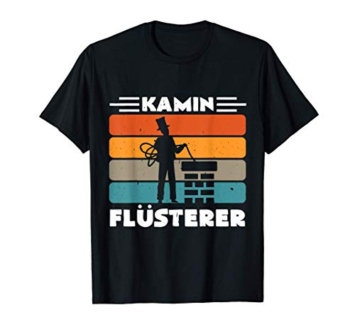 Retro Kamin Flüsterer Für Schornsteinfeger und Kaminkehrer T-Shirt