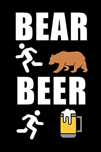 Bear Beer: Beer I Bear I Brewing I Journal I Book I Books