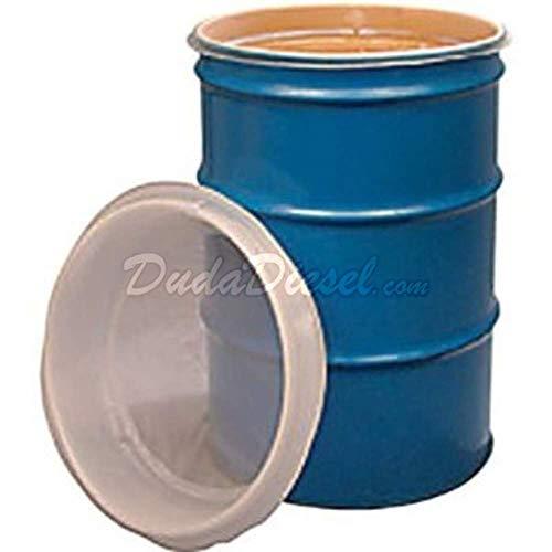 Duda Energy fs55:600u 55 gal EZ Strainer Insert, 600 Micron for Drum Barrel Filtering, Water Paint, Biodiesel, Wvo Wmo Vegetable Oil, 24