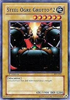 Yu-Gi-Oh! - Steel Ogre Grotto #2 (PSV-001) - Pharaohs Servant - 1st Edition - Common