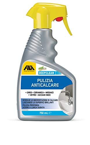 FILA Surface Care Solutions Spray anticalcare per Il Bagno Professionale, 750 ml, 750 unità