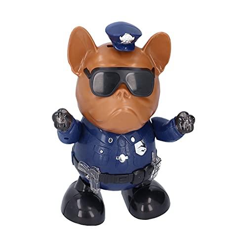 HEEPDD Juguete para Perros Robot para niños, Baile Interactivo e Inteligente para vencer a Puppy Robot con Sonido Envolvente 3D para niños y niñas(Azul)