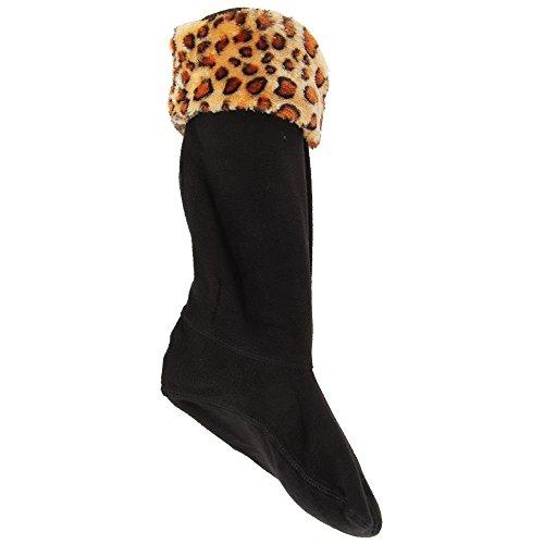 Severyn Calcetines para bota de agua de polar con estampado animal para...