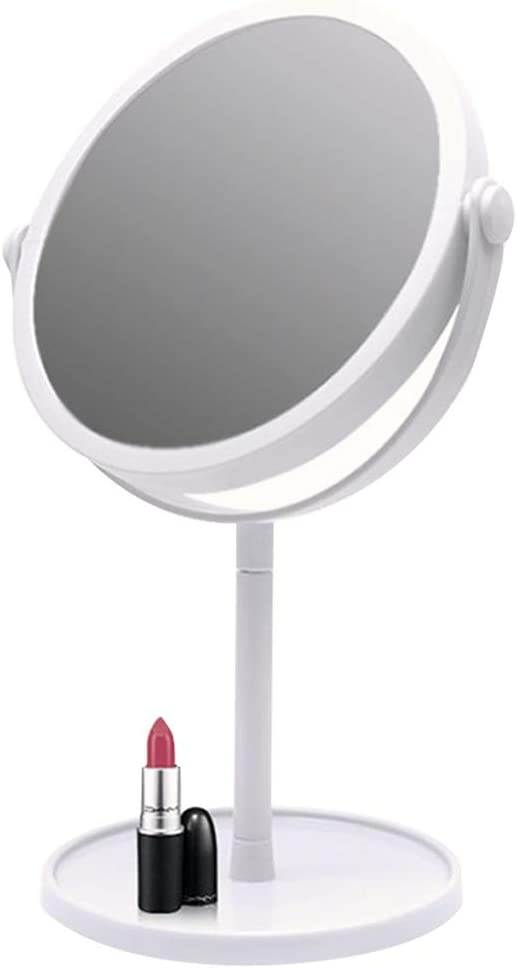 Double-Sided Rotating Vanity Mirror Makeu HD Washington Mall Finally resale start Round 360°