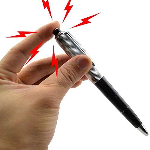 CALISTOUK Elektroschocker Stift Elektroschocker Kugelschreiber Elektro Shock Pen Zaubertricks Spielzeug Sherz Artikel