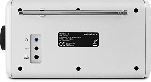 Nordmende Transita 210 - Tragbares DAB+ & UKW Digitalradio (Portable Musikbox mit Bluetooth Stereo Lautsprecher - Outdoor Radio mit Akku & Uhr)