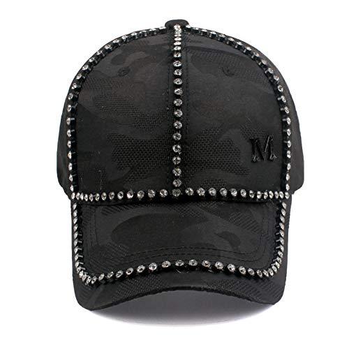 WDBUN Berretto da Baseball EAGLEBORN Cappellino da Baseball per Uomo Cappelli Personalizzati Cappello Snapback da Cowboy Uomo Nero nuovissimo Designer
