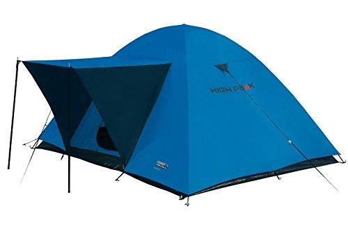 High Peak 10179 Tente dôme Mixte Adulte, Bleu/Gris, 220 x 250 x 130 cm