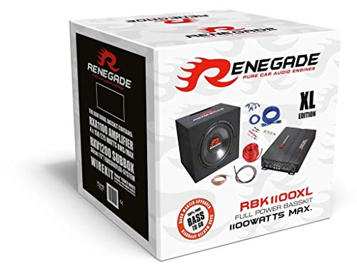 Renegade RBK1100XL Car-HiFi-Set