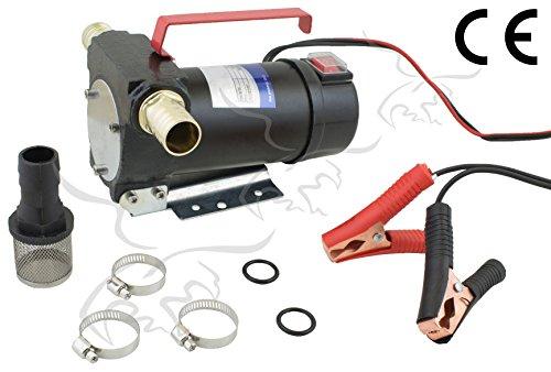 Tuecompra S.L. Bomba DE TRASVASE Y ASPIRACIÓN DE Aceite Y Combustible 12 V - 40 L/min. INDICADA para Diesel Y GASOIL