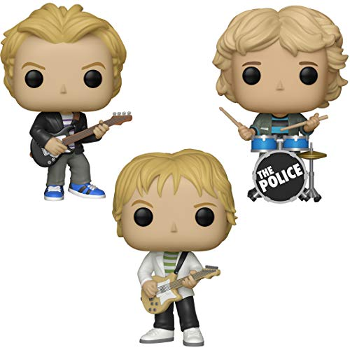 Funko Rocks: Pop! The Police Collectors Set - Sting, Andy Summers, Stewart Copeland