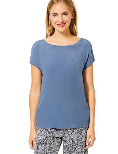 Street One Damen 315100 T-Shirt, Smoky Blue, 38