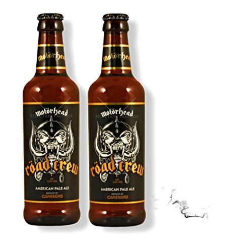 6 x Motörhead Röad Crew Pale Ale 0,33 l inkl 1,50 € Pfand Flasche Bier Beer