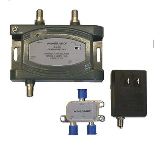Winegard HDA-200 Distribution Amplifier Adjustable Gain 5-1000 MHz 24dB