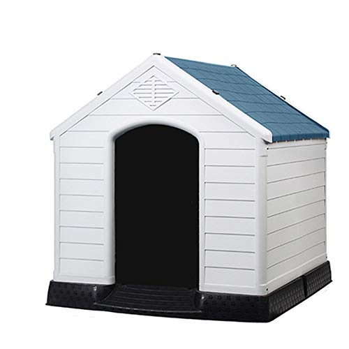 Hond Huis, Outdoor Hond Huis Met Deur - Waterbestendig Voor Medium Tot Grote Maatwerk Honden - Makkelijk Te Monteren - Perfect Ruime Gezellige Huis Voor Uw Huisdier