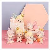 Juguetes de peluche 6 estilos de hadas serie ángel ciego caja linda muñeca creativa linda figura de anime juguete decoración interior adornos para regalos de niña (color: 1 caja)