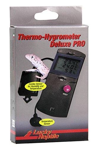 Lucky Reptile LTH-34 thermometer en hygrometer Deluxe Pro, elektronisch met afstandssensoren