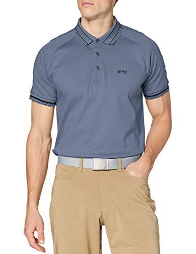 Photo of BOSS Men's Paddy 4 Polo Shirt, Silver43, M