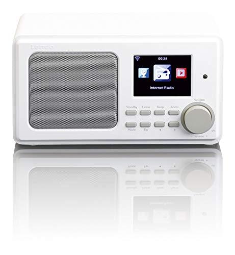Radio Multibanda LENCO DIR-100WH Color Blanco, Internet