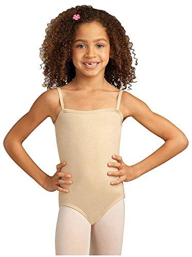 Price comparison product image Capezio Girls' Big Team Basic Camisole Leotard,  Nude,  Large