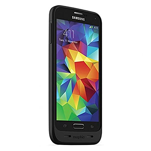cases for samsung galaxy s5s mophie juice pack for Samsung Galaxy S5 (3,000mAh) - Black