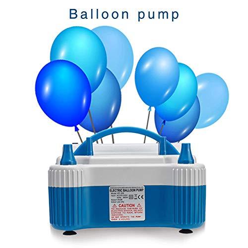 fervory Luftballonpumpe Elektrisch Aufblasgerät 700Watt, Tragbare Ballons Pumpe, Elektrische Luftpumpe Für Ballons, Schwimmring, Aufblasbares Kissen, Aufblasbares Spielzeug