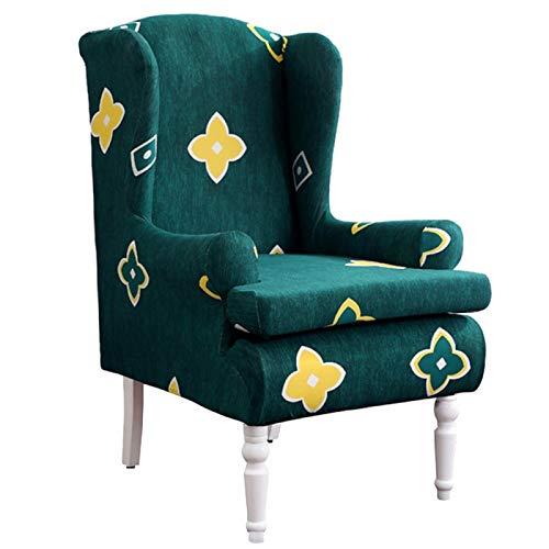 HGFHGD Solo sofá cubierta elástica sillón sofá silla tigre taburete cubierta elástica funda protectora 13