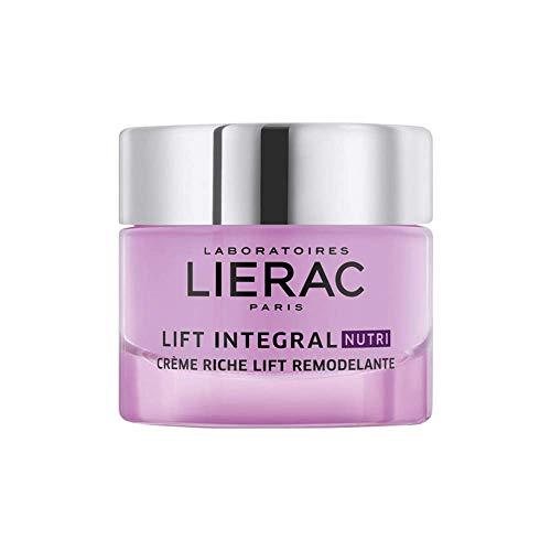 Lierac Lift Integral Nutri Crema Viso Giorno, Antirughe con Acido Ialuronico, per Pelle Secca, Formato da 50 ml