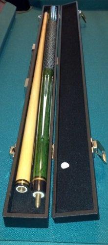 Top-Angebot: Billardqueue Tycoon, TC-4 grün, Länge ca. 147 cm, 2-tlg. und Koffer Standard 1/1 schwarz