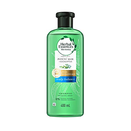 Herbal Essence Non Silicone Shampoo Bio Renew Aloe & Eucalyptus 400mL