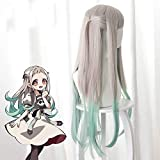 2020 Moda Anime Jibaku Shounen legato alla toilette Parrucche Hanako-kun Cosplay Hanako kun Nene Yashiro Parrucca sintetica per capelli + Parrucca Cap Parrucca taglia unica A