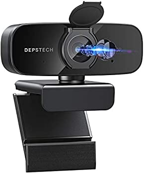 DEPSTECH 1080P HD USB Webcam with Microphone