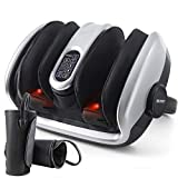 Belmint Foot Calf Shiatsu Massage Machine - Deep Kneading, Air Compression, Heat and Vibration Therapy for Feet, Legs, Calf, Plantar Fasciitis, Diabetics, Neuropathy | Increases Blood Flow Circulation