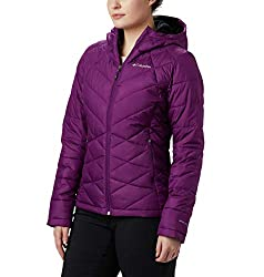 Columbia Women's Heavenly Hooded Winter Jacket, Insulated, Easy Packing