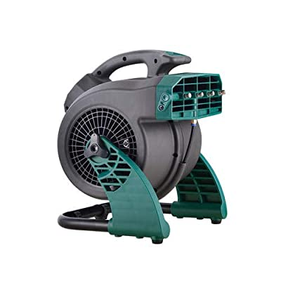 Masterforce 3 Speed Portable Outdoor Cooling Misting Fan