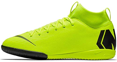 Nike Unisex-Kinder Jr. Mercurial Superfly VI Academy IC Multisport Indoor Schuhe, Schwarz (Volt/Black 701), 38 EU