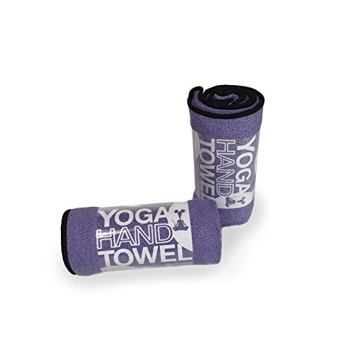 YogaRat Yoga Hand Towel (2 Pack) or Face Towels (4 Pack) - Quick-Drying - Absorbent - Compact - Ultra Versatile - Extremely Durable - Great for Active Pursuits and Around The House - Multiple Sizes