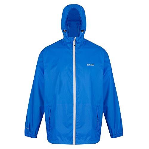 Regatta Pack It Jkt III Veste imperméable Homme Oxford Blue FR : L (Taille Fabricant : L)