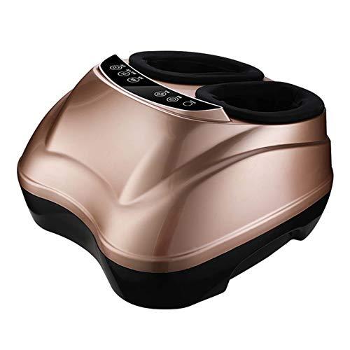 Masajeador de pies, masajeador profundo con control remoto, circulación, medicina revitiva, función de calor, rodando para dolor