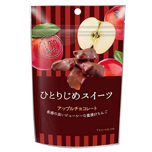 鈴木栄光堂 ひとりじめスイーツ アップルチョコレート6袋x12(72個)