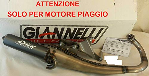 GIANNELLI Auspuff EXTRA V2 Scooter SR50 TE