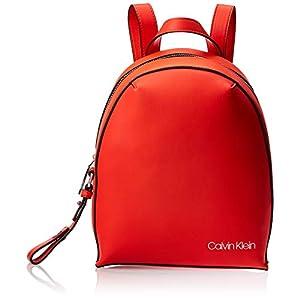 41u NWfnxcL. SS300  - Calvin Klein - Stride Sml Backpack, Mochilas Mujer, Naranja (Tangerine), 1x1x1 cm (W x H L)