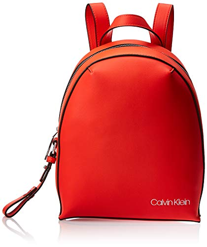 Calvin Klein Stride Sml Backpack - Zaini Donna, Arancione (Tangerine),...